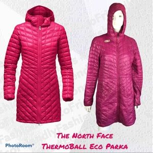 The North Face Women's ThermoBall Eco Parka Medium